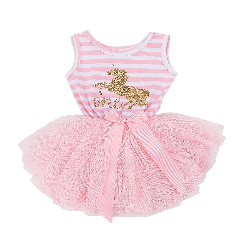 Grace & Lucille 1st Birthday Dress (Sleeveless)