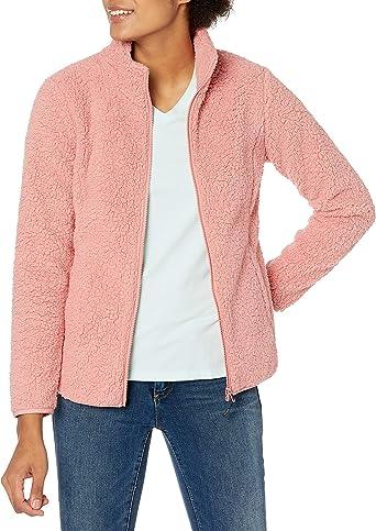 Essentials Chamarra de Forro Polar con Cierre Completa Fleece-Outerwear-Jackets Mujer