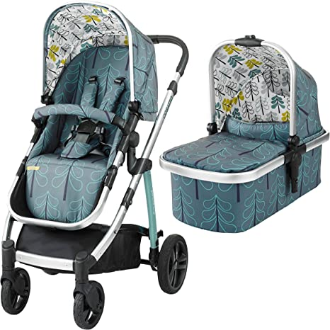 Opinión sobre Cosatto Wow Pram and Pushchair, from Birth Carrycot and Pushchair Suitable upto 25 kg, Fjord