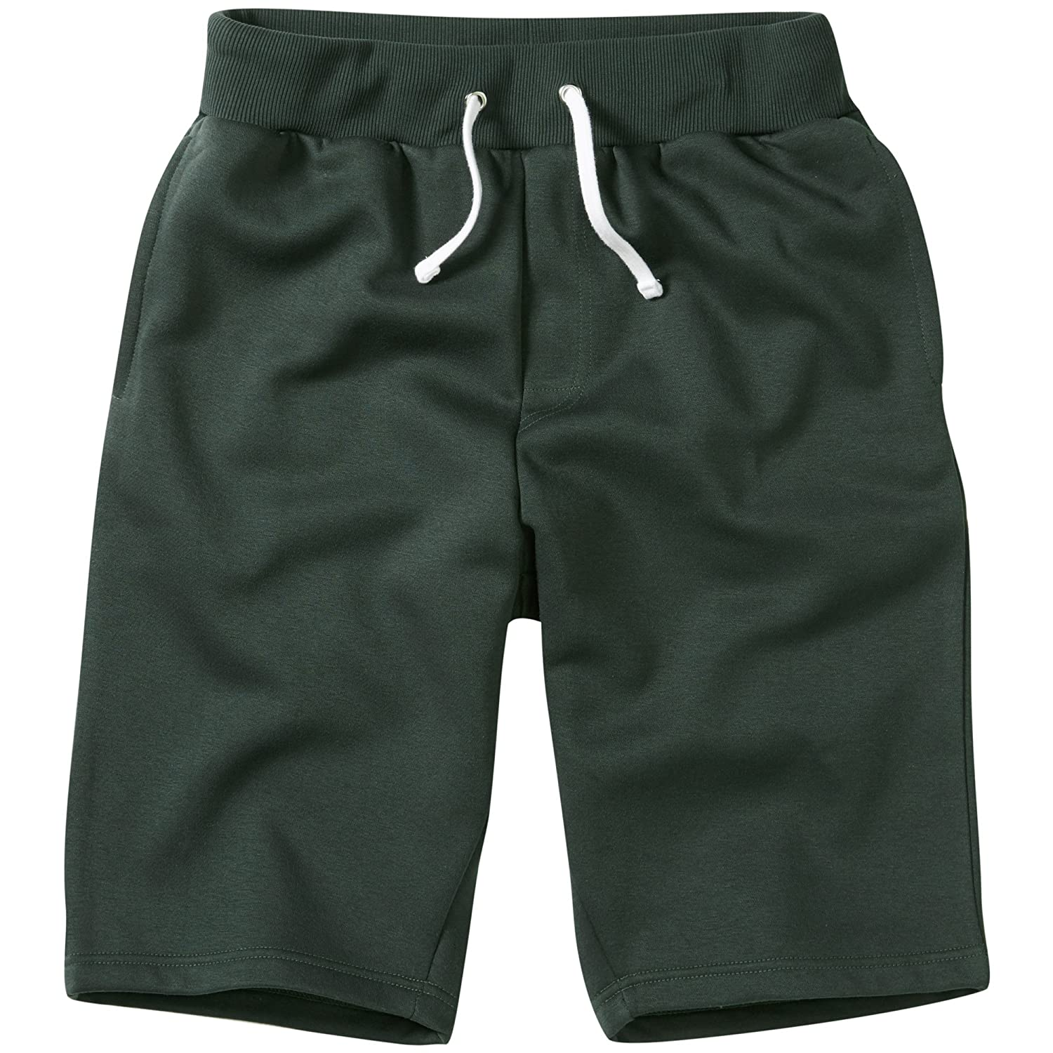 Charles Wilson Men's Essential Plain Jersey Jogger Shorts
