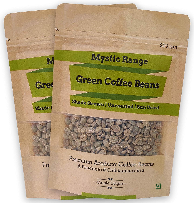 Mystic Range Premium Arabica Green Coffee Beans For Weight Loss
