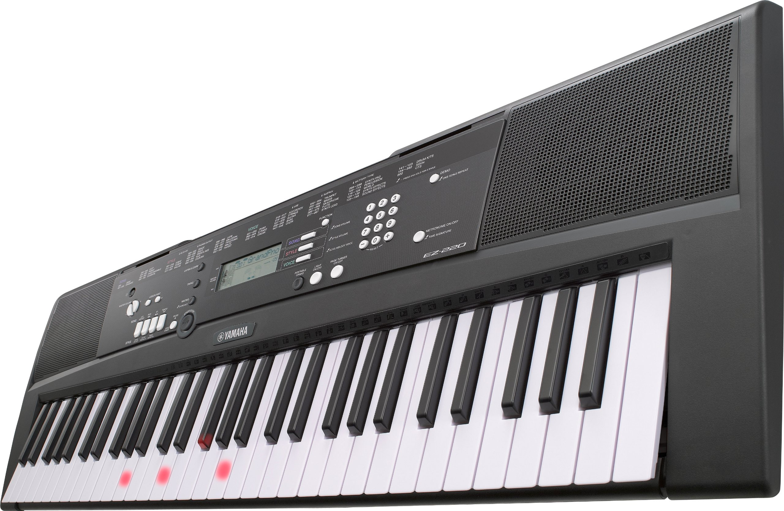 Yamaha EZ-220 - Perfect Match For Learners