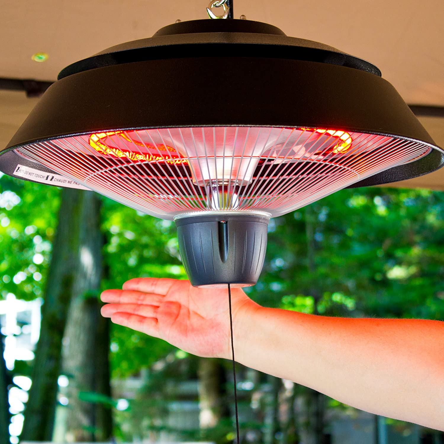 Amazon Ener G Infrared Outdoor Ceiling Electric Patio