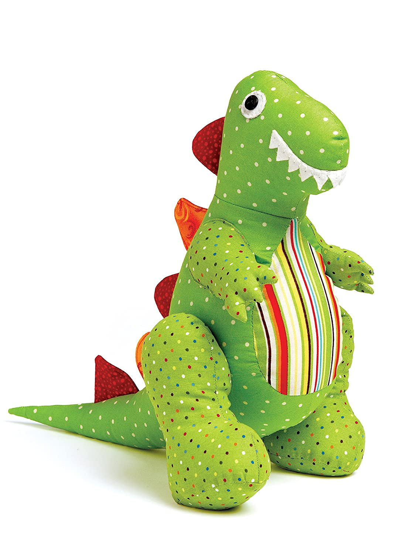 McCalls Patterns M7553OSZ Dinosaur Plush Toys and Appliqued Quilt