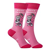 Cancer Gift Socks - Cancer Sucks Awareness Apparel Chemo Patient Support