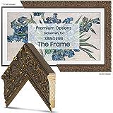 "Deco TV Frames - Tuscan Antique Gold Frame Custom for Samsung The Frame TV (55"")"