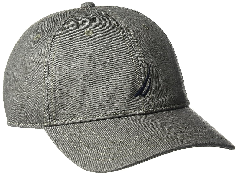 d1aaf1e3dd1a6 Nautica Men s Standard Classic Logo Adjustable Baseball Cap Hat ...