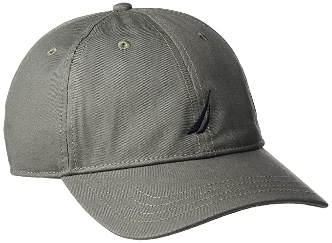 Nautica Men s Standard Classic Logo Adjustable Baseball Cap Hat ... b84d31c98be8