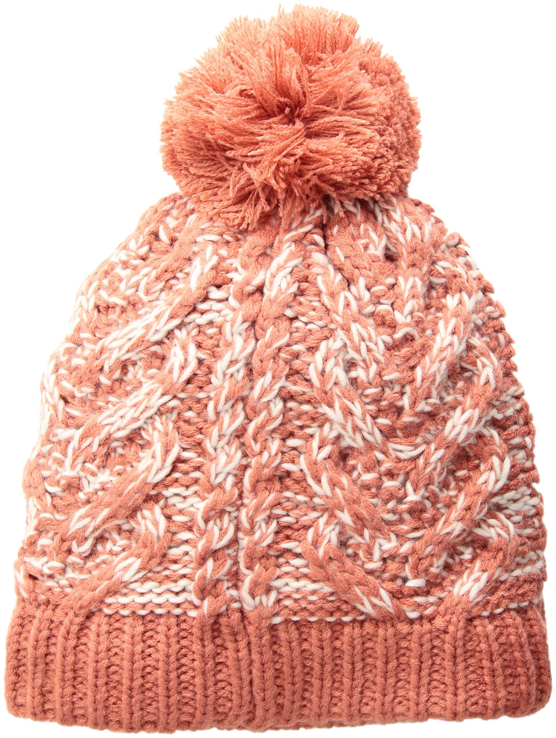 prAna Women's Felicity Beanie Cold Weather Hats, One Size, Rhubarb