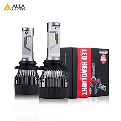 ALLA Lighting HB4 9006 LED Headlights Bulbs S-HCR Newest 10000Lms Extreme Super Bright LED 9006 Low Beam Headlight Conversion Kits Bulbs Replacement for Cars, Trucks, SUVs, 6000K - 6500K Xenon White: Automotive