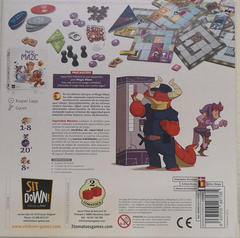 2 Tomatoes Games Magic Maze-Expansión Seguridad Máxima, Multicolor (8437016497135-0): Amazon.es: Juguetes y juegos