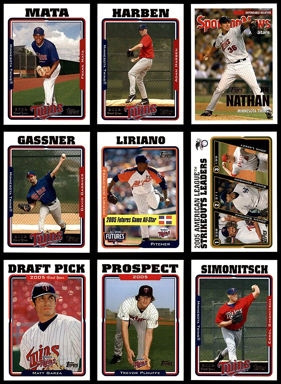 2005 Topps Update Minnesota Twins Almost Complete Team Set Minnesota Twins (Baseball Set) Dean's Cards 8 - NM/MT Twins 91p0Il0IkUL