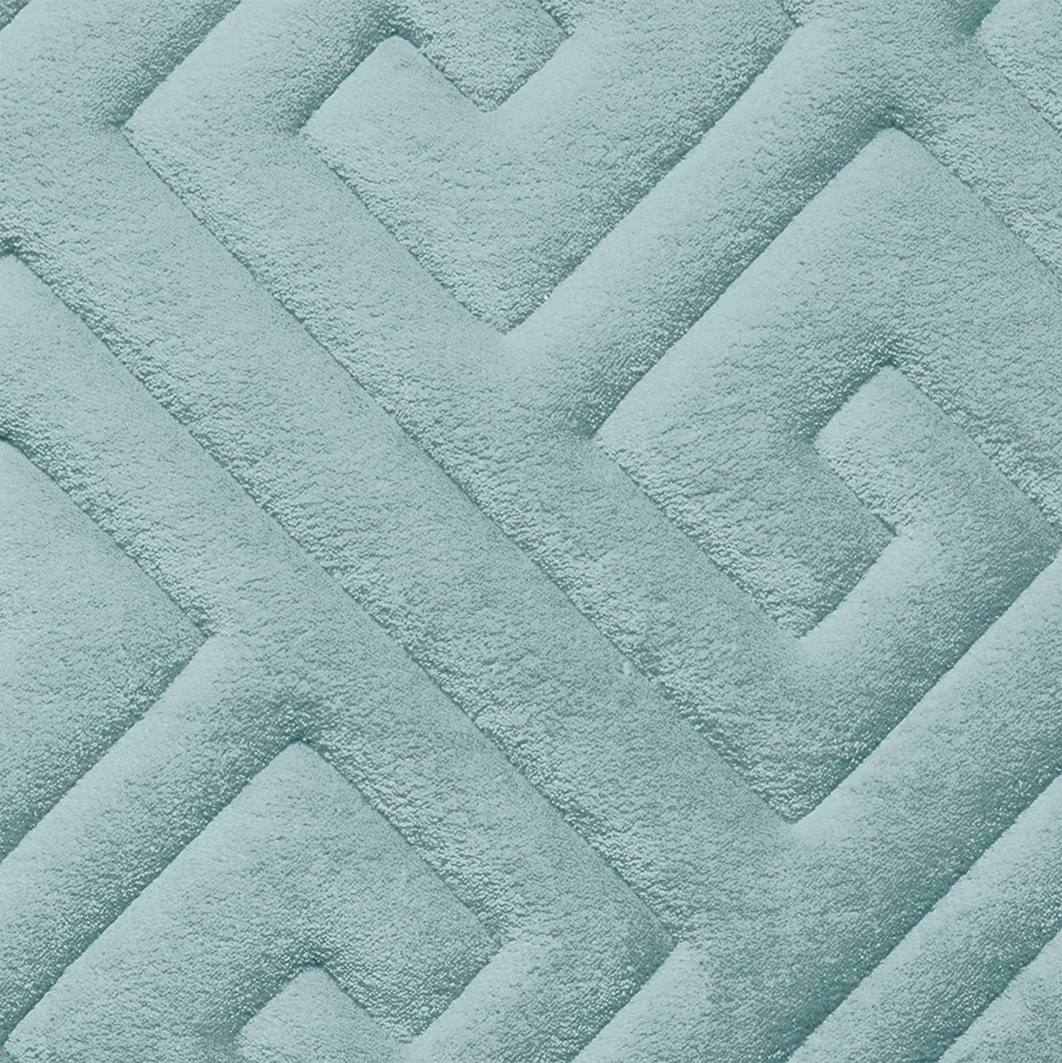 Bounce Comfort Caicos Extra Thick Premium Memory Foam Bath Mat with BounceComfort Technology 20 x 32 Aqua 20 x 32 Aqua Creative Home Ideas YMB003631