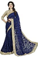 Soru Fashion Embroidered,Self Design Bollywood, Net Sari