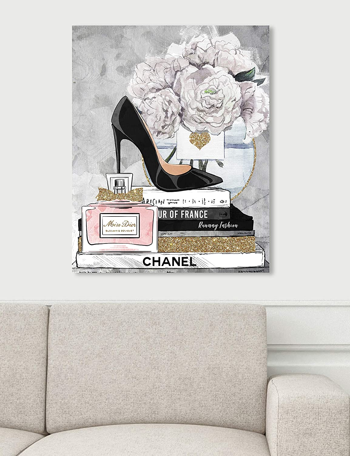 Amazon.com: The Oliver Gal Artist Co. Fashion and Glam Wall ...