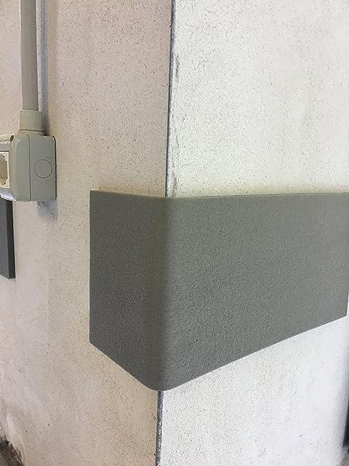 Protectores de paredes para garaje y cocheras - Juego de 2 paneles autoadhesivos 140x21,5x1