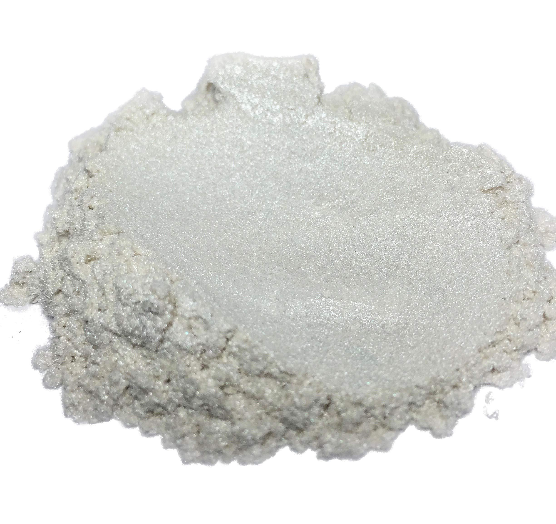 42g/1.5oz''PURE PEARL WHITE'' Mica Powder Pigment (Epoxy,Resin,Soap,Plastidip) Black Diamond Pigments
