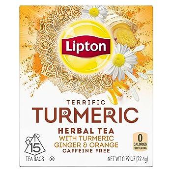 Lipton Herbal Turmeric Tea