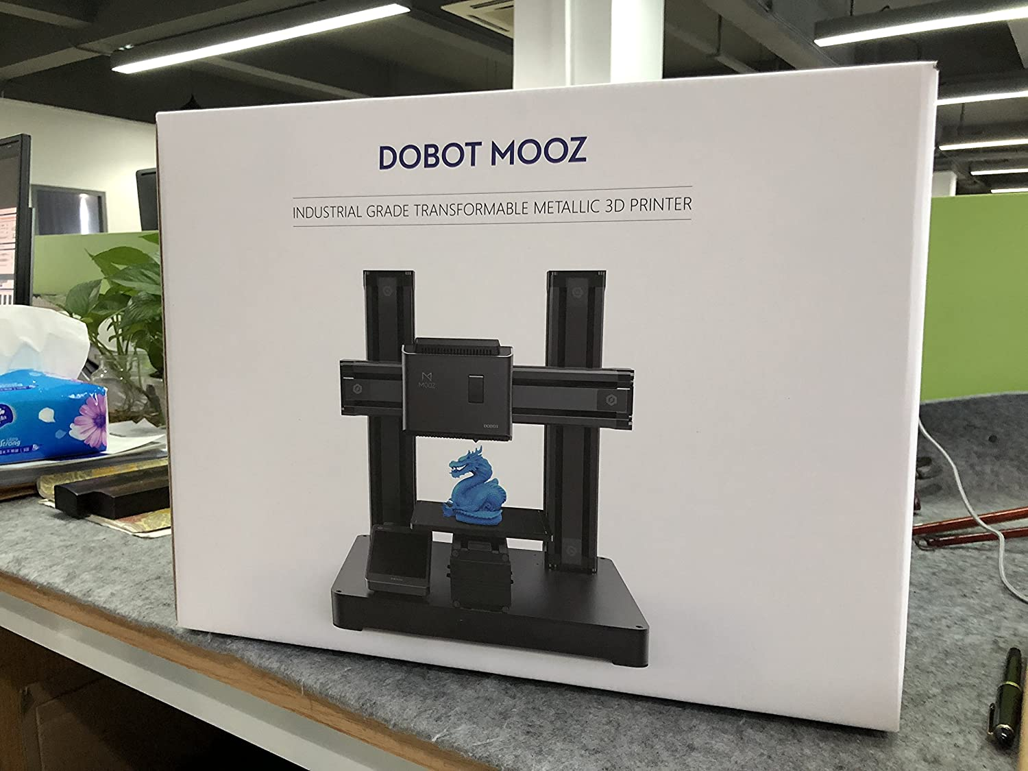 Dobot DB-MZ003 Mooz-2Z - Industrial Grade Transformable Metallic 3D Printer (Two Single Z-Axis)