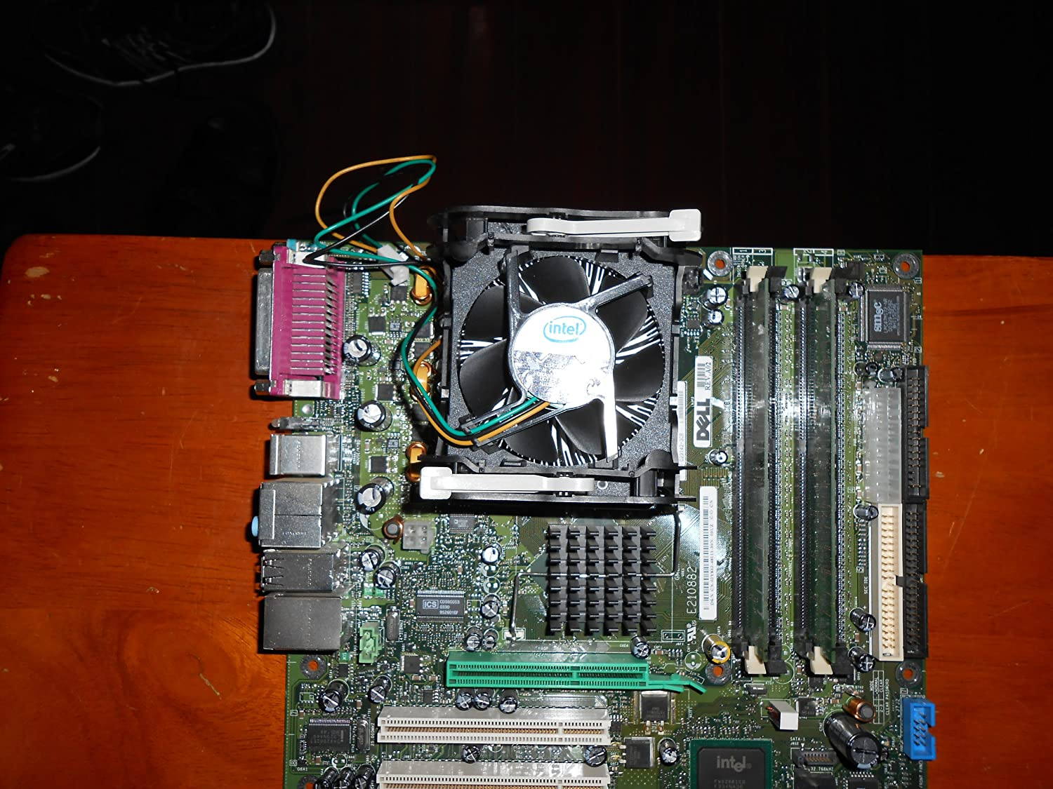 Genuine Dell F4491 Main System Motherboard with Video for Dimension 4600 Systems Dell Part Numbers: N2828, E210882