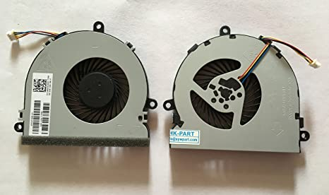 Amazon Com Hk Part Replacement Fan For Hp 250 G5 250g5 255g5 255 G5 Tpn C129 15 Ay 15 Ba 15 Bs 15 Bw Cpu Cooling Fan 4 Pin 4 Wire Dc5v Computers Accessories