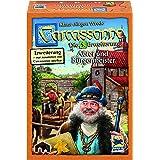 Schmidt Spiele Hans im Glück 48257 Carcassonne, Abtei und Bürgermeister, Erweiterung 5, neue Edition, Spiel und Puzzle