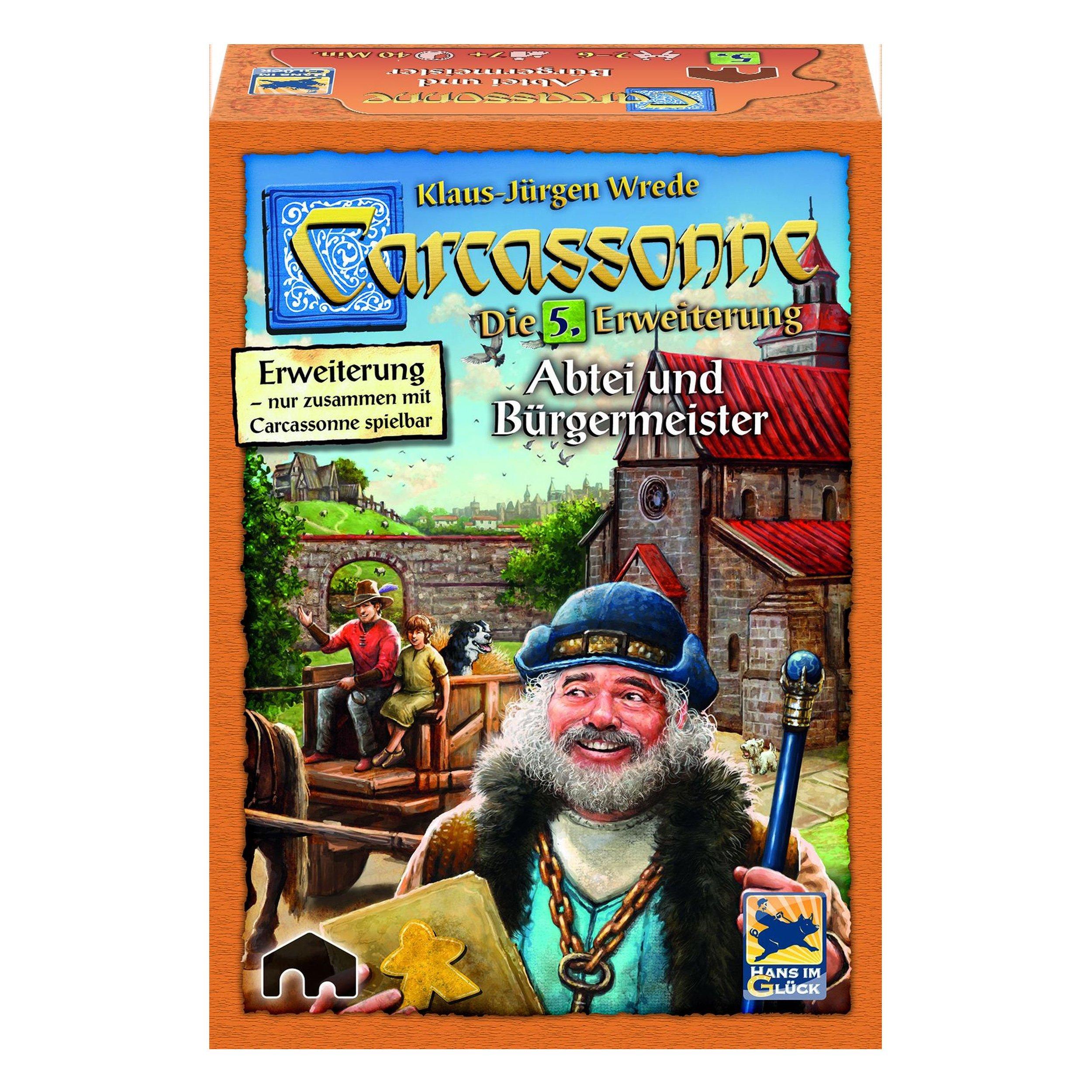 Carcassonne. Abtei und Bürgermeister. Erweiterung 5. Neue Edition: Amazon.es: Libros en idiomas extranjeros
