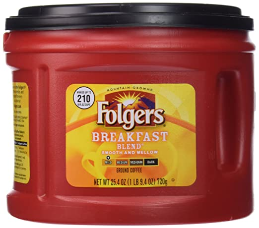 $3.81 for Large Folgers Breakf...