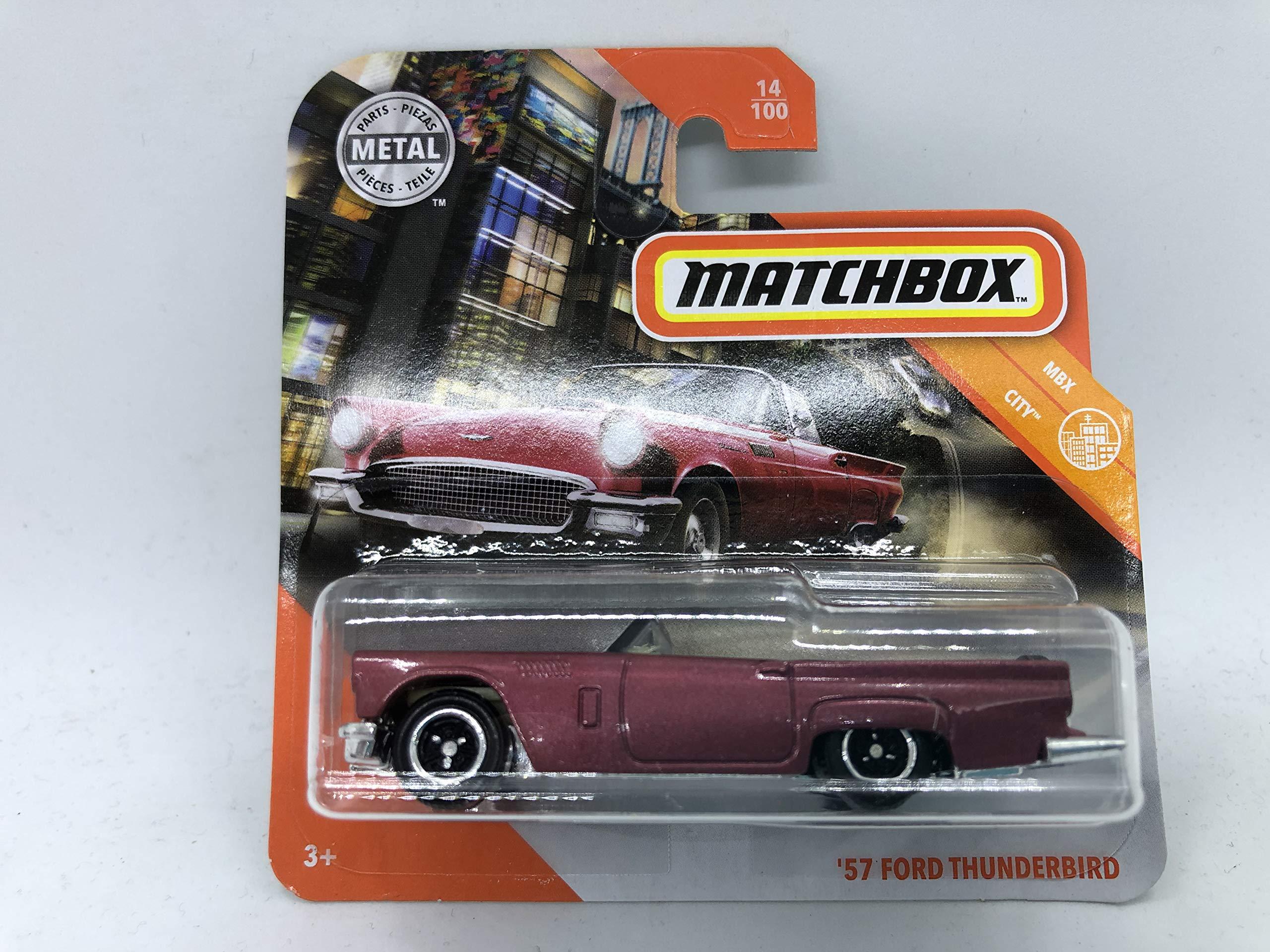 MATCHBOX MBX CITY SERIES /'57 FORD THUNDERBIRD #14//100