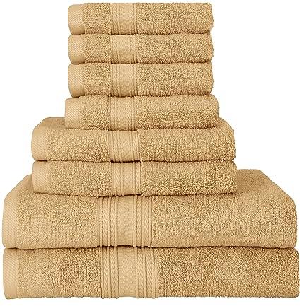 amazon com utopia towels luxurious 700 gsm thick 8 piece towel set
