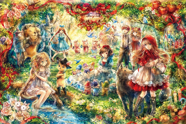 1000 piece jigsaw puzzle Fairy tale (50x75cm)