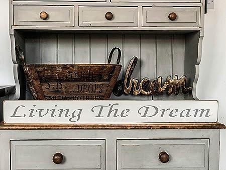 El sueño de estar hecho a mano - cartel de madera por la ...
