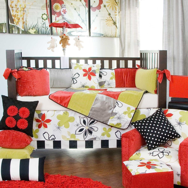 amazoncom  glenna jean mckenzie crib bedding set   piece set  - amazoncom  glenna jean mckenzie crib bedding set   piece set  baby