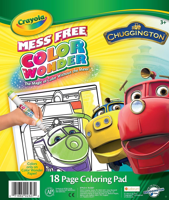 Amazon Crayola Color Wonder Chuggington Coloring Pad Toys Games