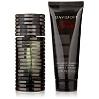 Davidoff The Game Eau de Toilette Spray 60 ml + 75 ml Shower Gel Gift Set For Him, 60 ml