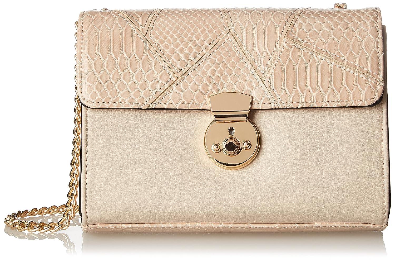 Silvian Heach Shoulder Bag Lubrin, Sacs bandoulière femme, Rosa (Pink), 4x28x40 cm (W x H L)