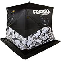Frabill Bro Hub Top & Sides Insulated 2 - 3 Man Snow Camo Shelter