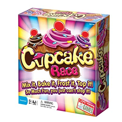 The Cupcake Game - Preschool Game for Children Ages 4 Years and Up: Toys & Games
