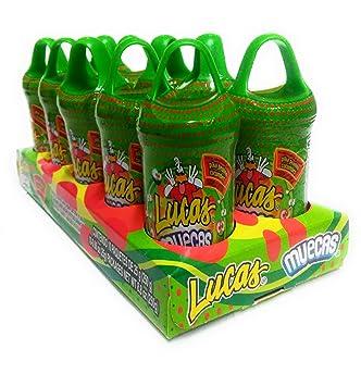 6429f5f415d2 Amazon.com   Lucas Muecas Pepino Cucumber Flavored Lollipop with ...