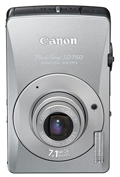 amazon com canon powershot sd750 7 1mp digital elph camera with 3x rh amazon com canon powershot 720 manual Canon PowerShot User Manual