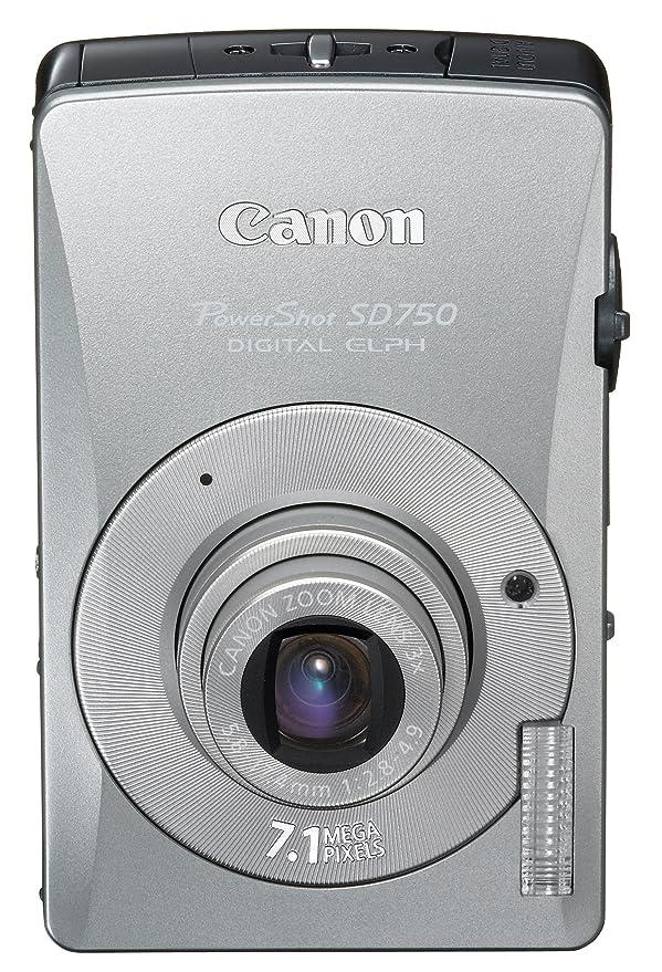amazon com canon powershot sd750 7 1mp digital elph camera with 3x rh amazon com Canon PowerShot SX400 Digital Cameras by Canon