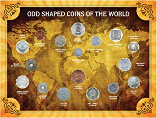 product image for Odd Shaped Coins of The World