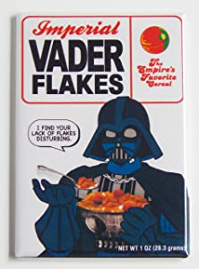 "Star Wars""Darth Vader Flakes Cereal Box"" Fridge Magnet (2 x 3 inches)"