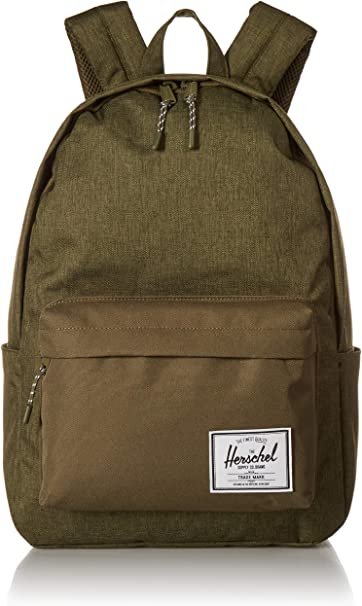 Herschel Supply Co. Classic X large Backpack, Olive Night CrosshatchOlive Night