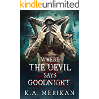 Where the Devil Says Goodnight ( dark M/M paranormal romance) (Folk Lore Book 1) book cover