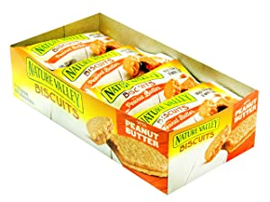 NATURE VALLEY BISCUITS WITH PEANUT BUTTER 1.35 OZ / 16 CT