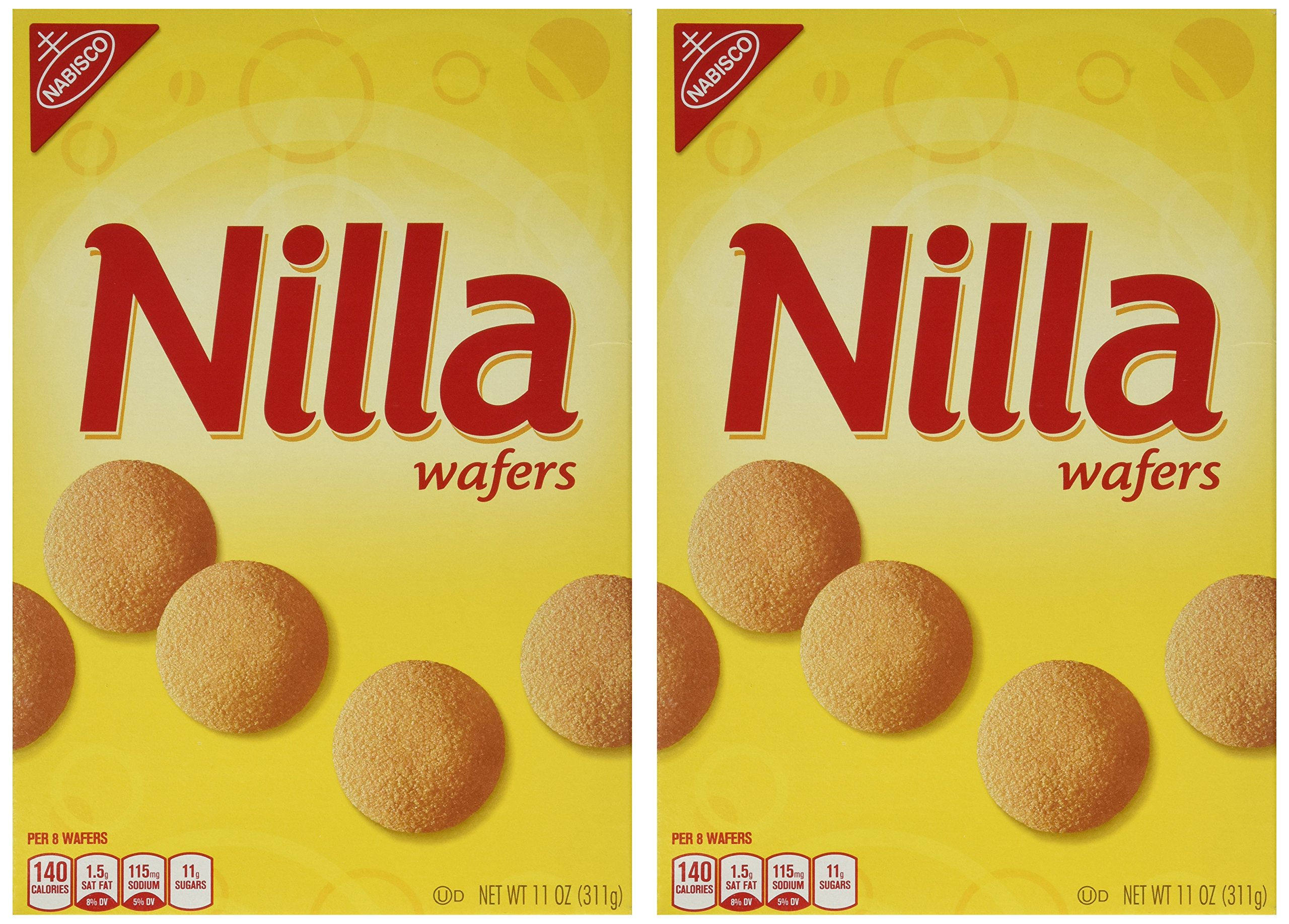 Nilla Wafers 11 Ounce Box (Pack of 2)