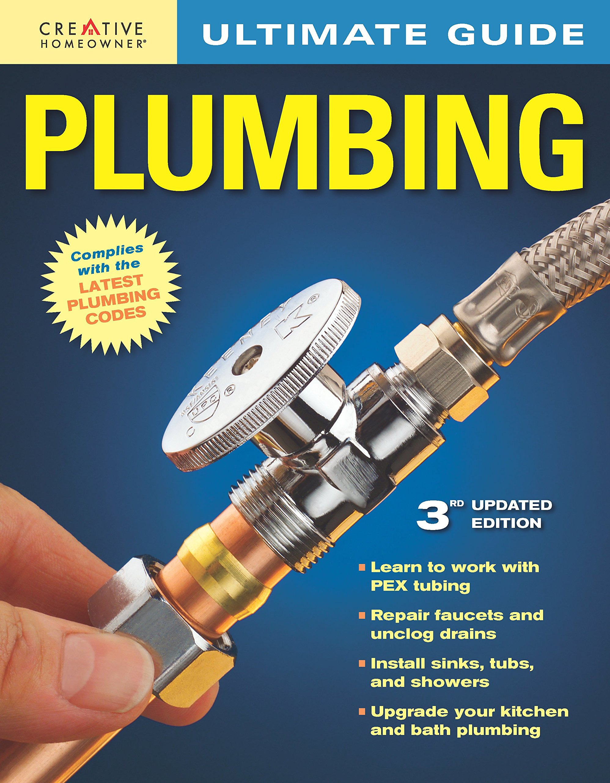 Ultimate Guide: Plumbing, 3rd edition: Editors of Creative Homeowner ...