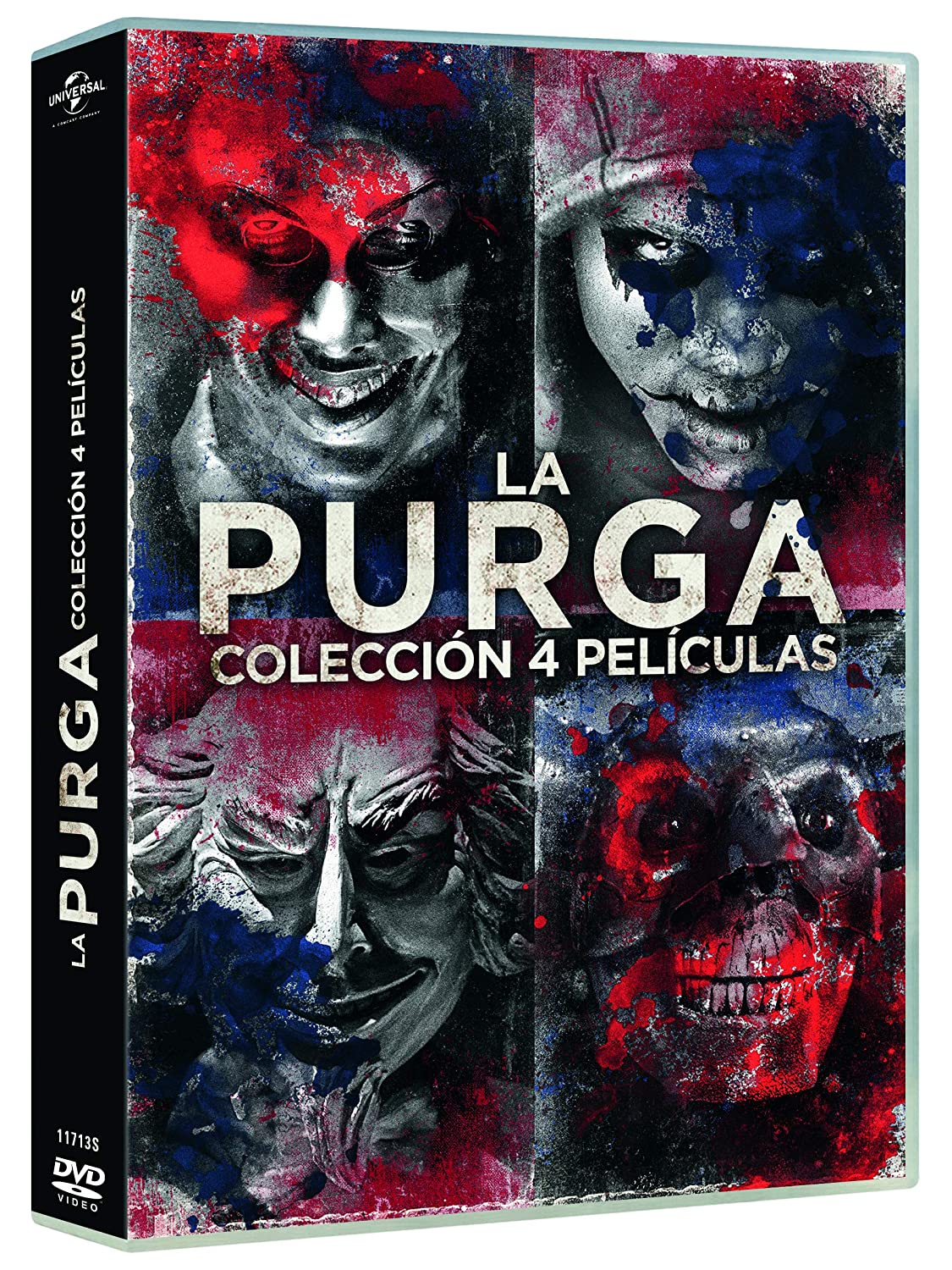 Pack: La Purga 1-4 [DVD]: Amazon.es: YLan Noel, Lex Scott Davis, Joivan Wade, Gerard McMurray, YLan Noel, Lex Scott Davis, Blumhouse Productions, Perfect World Pictures, Platinum Dunes: Cine y Series TV