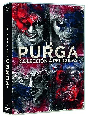 Pack: La Purga 1-4 [DVD]: Amazon.es: YLan Noel, Lex Scott Davis, Joivan Wade, Gerard McMurray, YLan Noel, Lex Scott Davis, Blumhouse Productions, Perfect World Pictures, Platinum Dunes: Cine y Series TV